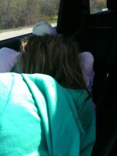 B sleeping